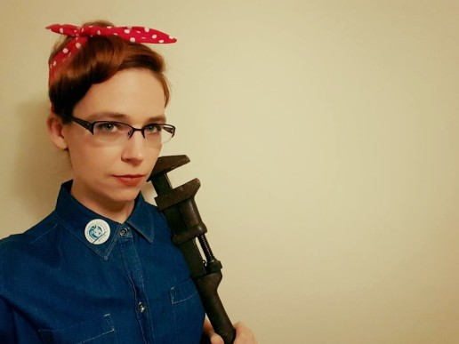 Rosie the Riveter. Photo by me.